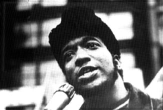 Fred Hampton portrait
