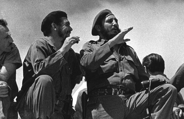 Fidel Castro with Che Guevara