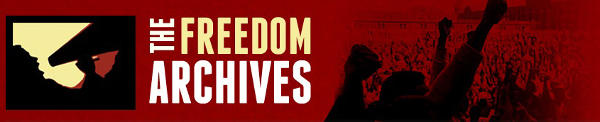 Freedom Archives banner