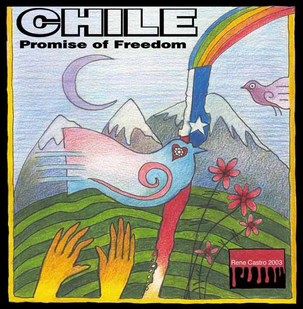 CD cover art: Chile - Promise of Freedom audio CD